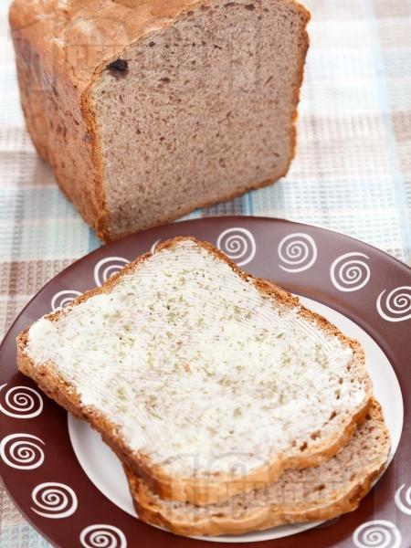 Фермерски хляб с орехи за хлебопекарна - снимка на рецептата
